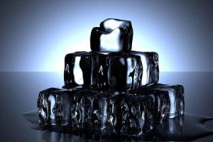 Cubitos transparentes